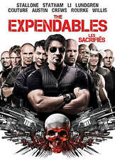 The Expendables (DVD, 2010, Bilingual) With Embossed Slipcover