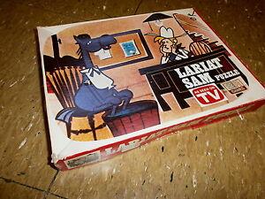 vtg 70s LARIAT SAM PUZZLE TerryToons Cartoon CAPTAIN KANGAROO Horse Tippytoes