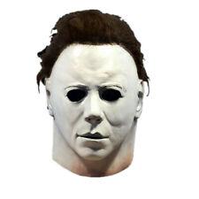 Halloween Horror Michael Myers Killer Mask Cosplay Scary Latex Costume 2020