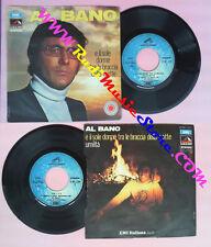 LP 45 7''AL BANO CARRISI E il sole dorme tra le braccia della notte no cd mc vhs