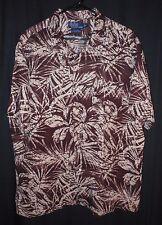 Ralph Lauren Polo Shirt Batik Style Print Hawaiian Casual Beach Pool Party XL