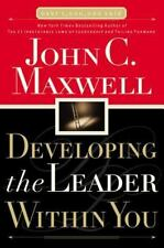 Developing the Leader Within You John C. Maxwell Books-Good Condition
