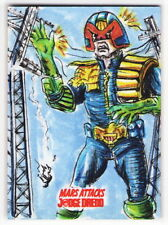 TOPPS MARS ATTACKS JUDGE DREDD Neil Camera Sketch Card HIGH VOLTAGE EXECUTION