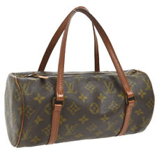 ef2060ef1546 AUTH LOUIS VUITTON PAPILLON 26 HAND BAG MONOGRAM CANVAS M51366 VINTAGE  AK27256