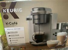 Keurig K Cafe Special Edition Coffee Maker Latte Single Serve Cup Pod Nickel New