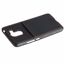 Plain Fitted Cases/Skins with Card Pocket for HTC Mobile Phones
