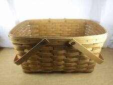 Longaberger Medium Market Basket with Protector