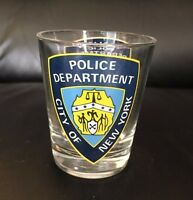 New York City Police Department (NYPD) - Shot Glass