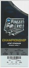 2014 NCAA Basketball FINAL FOUR CHAMPIONSHIP FULL Ticket UCONN vs. KENTUCKY