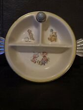Vintage Baby Feeding Dish. 7-11-1944. Patented