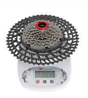 BOLANY MTB Bike 12 Speed Cassette 11-50T SLR Wide Ratio UltraLight Aluminum 380g
