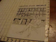 vintage Original Sci Fi Zine: GRAPHIC STORY WORLD #5, 40pgs