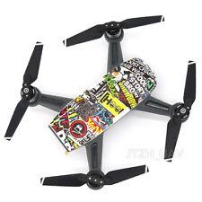 Spark Colorful Sticker Waterproof Body Skin Wrap Fuselage for DJI Spark Drone