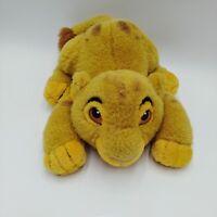Disney World Lion King Cub Baby Simba Pouncing Plush Stuffed Toy Vintage