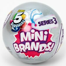 NEW!! 5 Surprise Zuru Mini Brands Series 3: Complete Your Collection You Pick