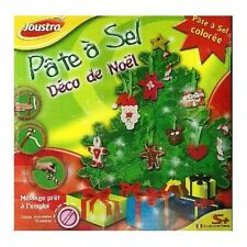 Joustra - kit  pâte à sel -DÉCO de NOEL - Loisirs créatifs- réf:41005