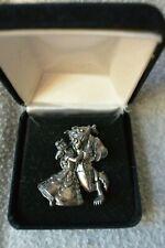 Disney Beauty & The Beast Sterling Silver Pin