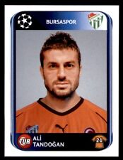 Panini Champions League 2010-2011 Ali Tandogan Bursaspor No. 194