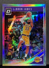 2018-19 Donruss Optic Lebron James Optic Holo First Lakers Card