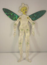 Folk art paper craft figure--'HARPEE' by Russell Black-jointed and textured!