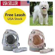 Dog Harness Lead Leash Vest Reflective Belt Collar Chest Strap For Night Walking