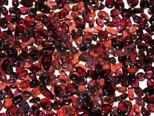 Garnet crystal polished smaller pieces 2-5MM orange/red/pink 1/4 pound lots