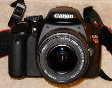 Canon Eos Rebel T2i 18mp camera with Canon EF-S  18-55 AF Zoom Lens