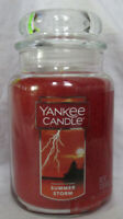 Yankee Candle Large Jar Candle 110-150 hrs 22 oz SUMMER STORM