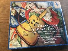 Villancicos Y Danzas Criollas [CD Album] Jordi Savall Capella Reial de Catalunya