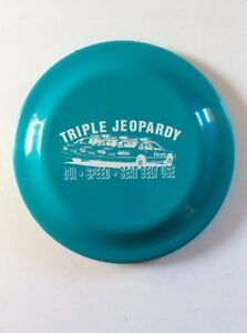 """TRIPLE JEOPARDY"", Public Announcement Flying Disc 9"" Humphrey Flyer"