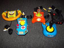 Plug & Play Jakks Bundle Lot of 5 Spongebob,Namco,Nicktoons,Disney & Atari