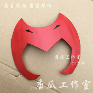 Handmade Catra She-Ra Princess of Power Red Mask Headwear PartyShow Cosplay Prop