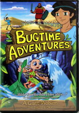 Bugtime Adventures A Giant Problem The Story Of David NEW DVD Bible Stories