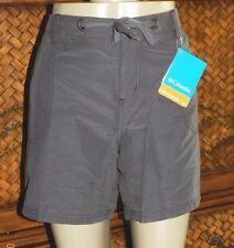 NEW $58 WOMENS ROCK & REPUBLIC BLACK BERMUDA LENGTH FRAY JEAN SHORTS SIZE 10
