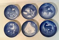 1970-75 Bing & Grondahl Mother's Day MORS DAG Plates Denmark Porcelain Set of 6