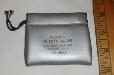 vintage Floyd's Beauty Salon Toledo Ohio Small Pouch Coin Purse