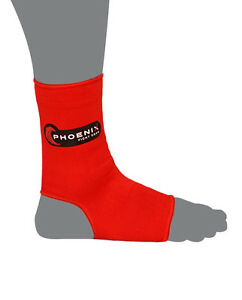 Phoenix Fight Gear -  Sustain Ankle Supports (Available in Black or Red)