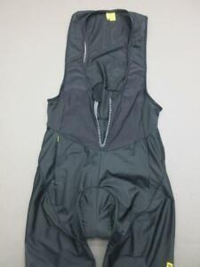 Mavic Size XL Womens Black Athletic Altium Padded Bike Cycling Leggings T636