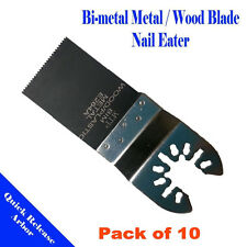 10 Multi Tool Saw Blade For Bosch OIS Rockwell HyperLock 3 amp Black and Decker