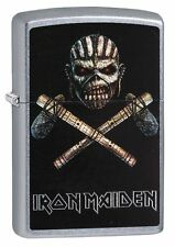 Zippo Iron Maiden Cover The Book of Souls - Spring 2017 - 60003142 Neu+OVP Feuer