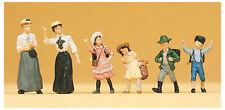 Preiser 12194 HO Frauen und Kinder um 1900 6 Figuren