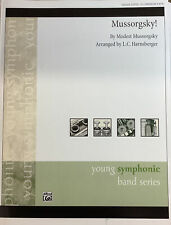 Mussorgsky! for med. easy (gr. 2 1/2) concert band, score and parts.