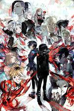 A3 Size - Tokyo Ghoul -Manga Series Sui Ishida Anime GIFT/ WALL DECOR ART POSTER