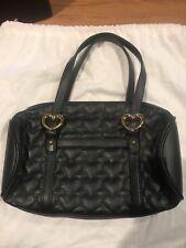 Lovcat Black Purse Handbag Black Hearts