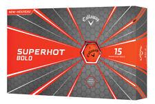 Callaway Superhot Bold Golf Balls Matte Orange Two 15-Ball Packs 2018 NEW 10210