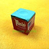 5 pieces MASTER USA Billiard Pool Snooker Tool Cue Tip King Tweeten Green Chalk