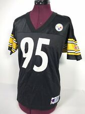 Vintage Greg Lloyd #95 Pittsburgh Steelers 90s Champion Jersey Large 14-16 Youth