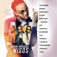 Migos Mission Impossible July 2018 (Mixtape) CD Album Rap Trap PA Hip Hop RnB RB