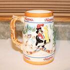 1986 Hamm's Beer Holiday Winter Skiing Bear Mug - Pabst Brewing