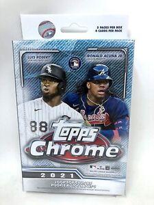 2021 Topps Chrome Baseball Hanger Pack